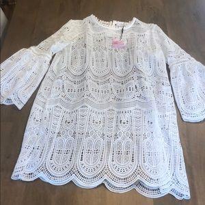 NWT Chicwish Lace White Boho Dress